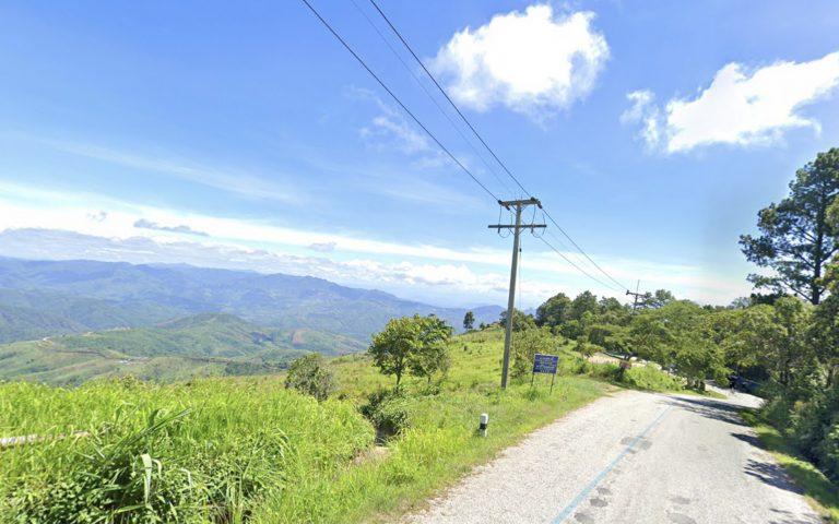 Дорога вдоль границы с Мьянмой